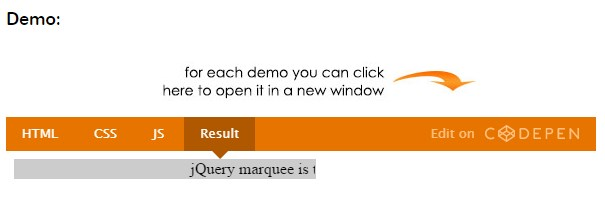 marquee-jquery